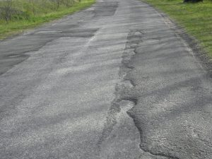 rossz útfelület